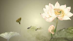 Lotus HD live wallpaper