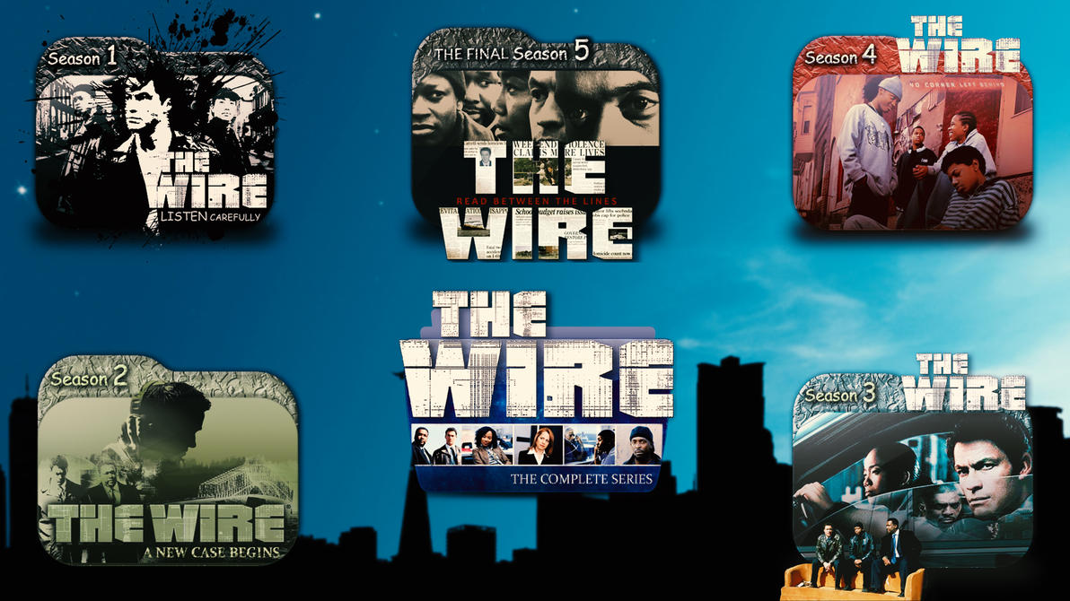 The Wire - Folder Icon Full Pack by coolbonn on DeviantArt