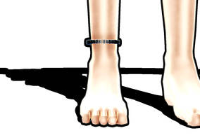 ankle bracelet -ver. gum? -DL- by RageXYZ