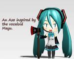 Mayu inspired axe v1.0 -DL-
