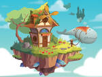 Interactive Floating Island