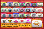 SNSD Emblems and Logos Folder Icon Pack