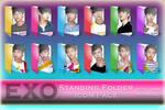EXO Standing Folder Icon Pack