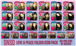 SNSD Love and Peace Folder Icon Pack