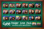 SNSD Gee Folder Icon Pack