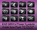 EXO 2014's Power Symbols Folder Icon Pack