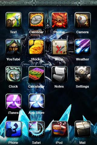 World of Warcraft - iPhone by BrattyB