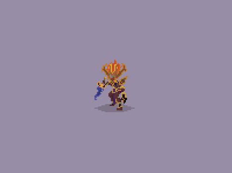 Heroes of the Storm Pixel Art: Nazeebo