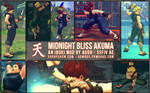 SSF4 AE Midnight Bliss Akuma