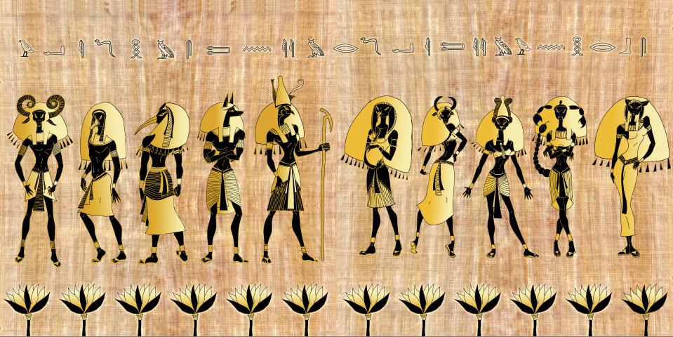 Egiptieciu dievai
