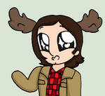 Moose - Gif - Supernatural by AmazingAceArmy