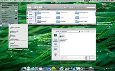 Leopard Glass v2 by neodesktop