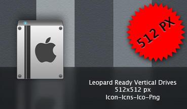 Leopard Ready Vertical Drive by neodesktop