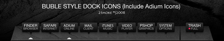 Buble Icons