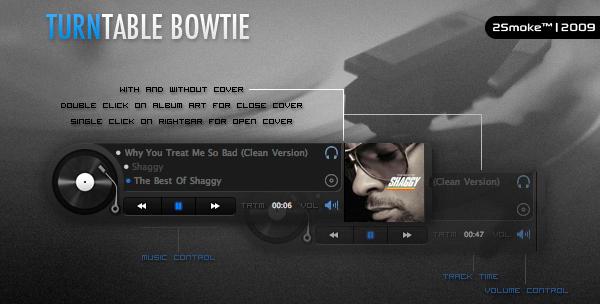TurnTable Bowtie by neodesktop