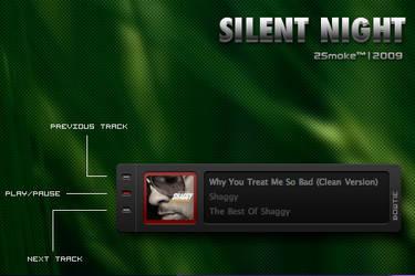 Silent Night Bowtie by neodesktop