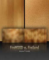 FireWood vs. FireSand by neodesktop