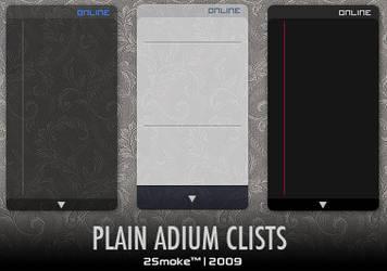 Plain Adium Clists