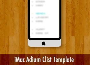 iMac Adium Clist