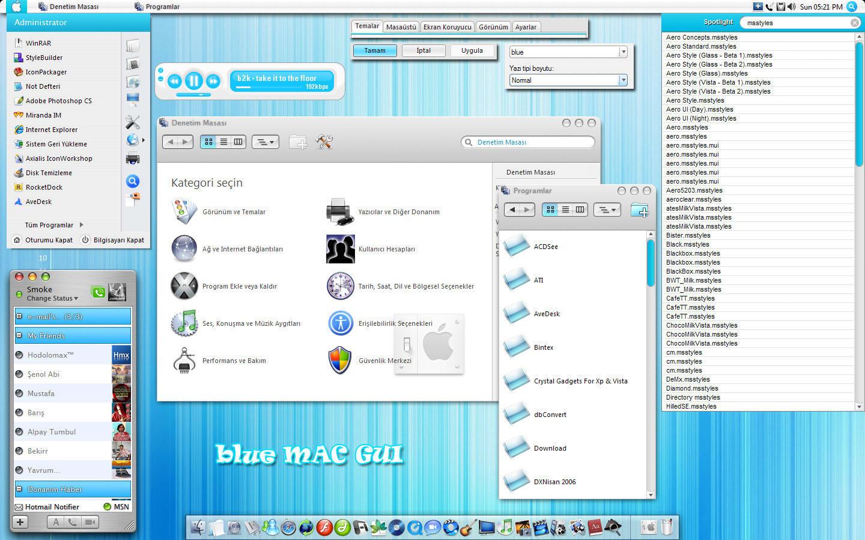 Blue Gui by neodesktop