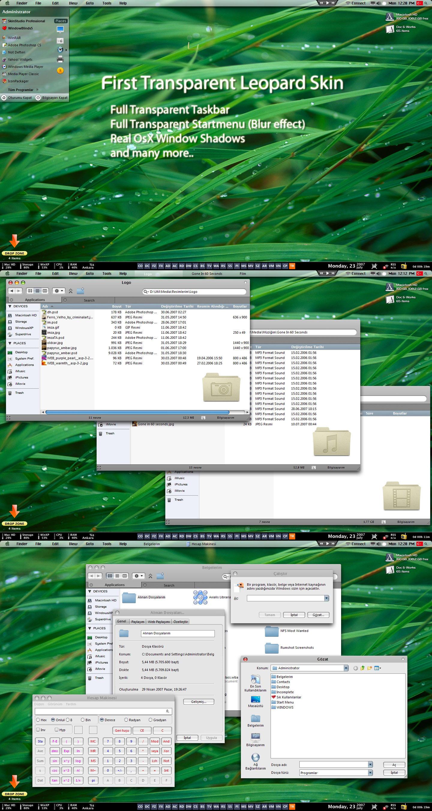 Leopard Glass Final Release by neodesktop