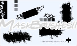 Mask Brushes II for PS 7+