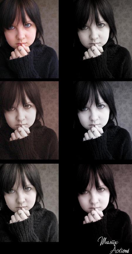 Photoshop actions 2. by mariix