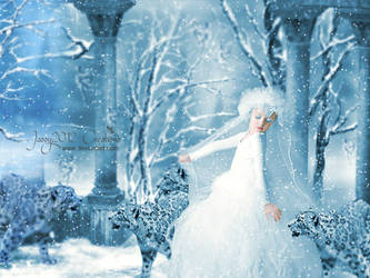 Little Snowqueen loves Snowflakes - updated