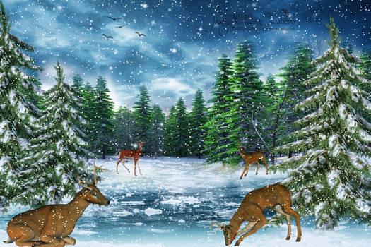 Let it snow - let it snow - Animation