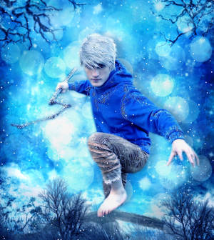 Jack Frost - with Snowfall Animation