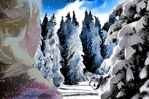 Winter Dream - animated Snowfall by JassysART