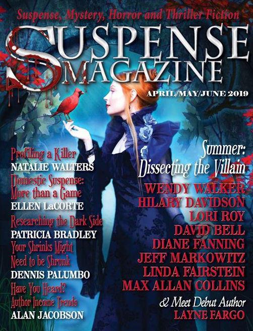 My Interview on Suspense Magazine