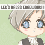 Let's Dress Edgeworth by Popo-Licious