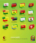 flags of Africa...angola 2010