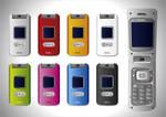 No 129 Vector Cell Phones