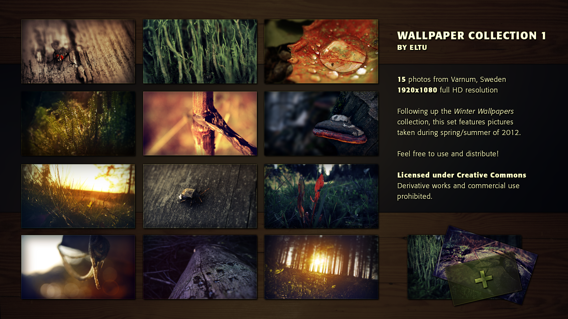 Wallpaper Collection 1 by ivarhill