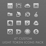 47 Custom Light Token Icons Pack