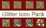Glitter Icons Pack