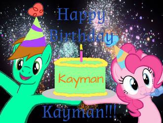 Happy Birthday KayMan13