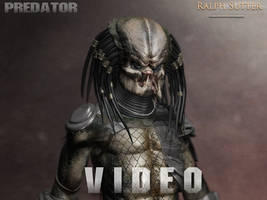 Predator - 3D  -Rig, render and Animation test