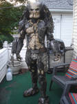 Full Predator Costume Suit Up!