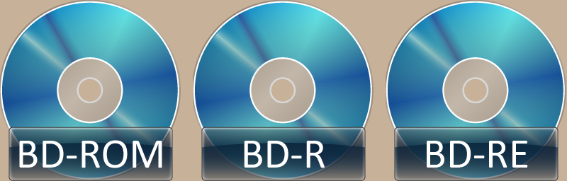 Blu-ray Disc Icons by tempest790