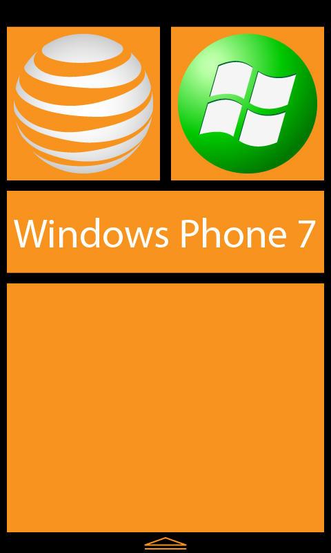 Windows Phone 7 Orange Tile by tempest790 on deviantART