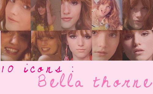 10 icons Bella thorne by IsaDesings