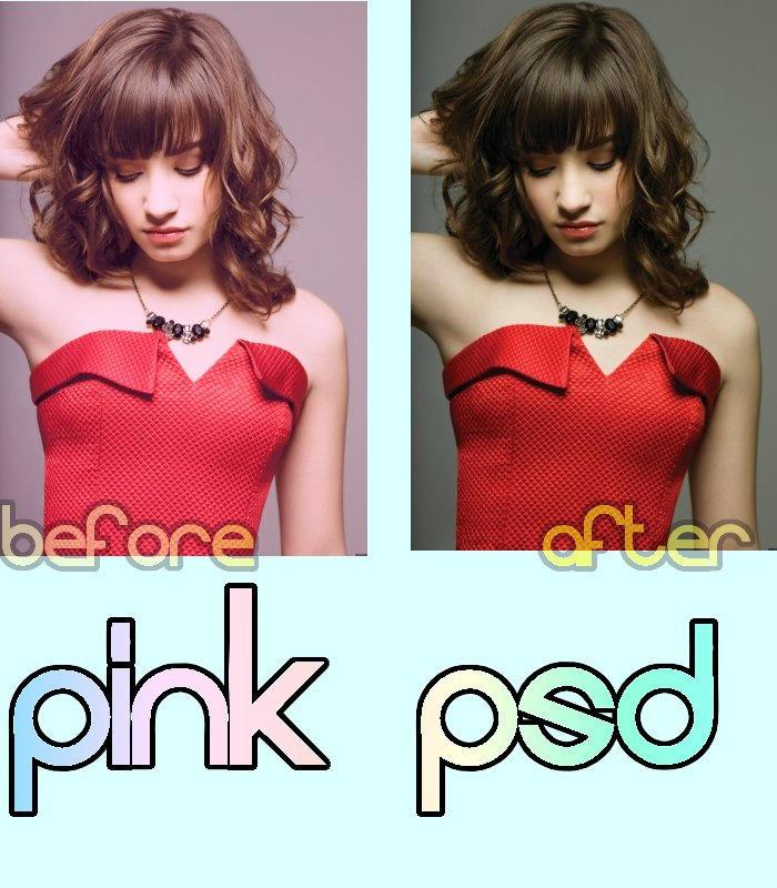 Pink PSD -. rar - by IsaDesings