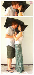 Rain Couple Space Saver Pack 1 by tacostock