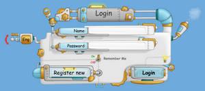 login and register