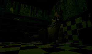 [FnaF Stuff] Withered Golden Freddy Gif