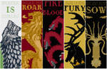 Game of Thrones: Bookmarks - Cross Stitch Patterns