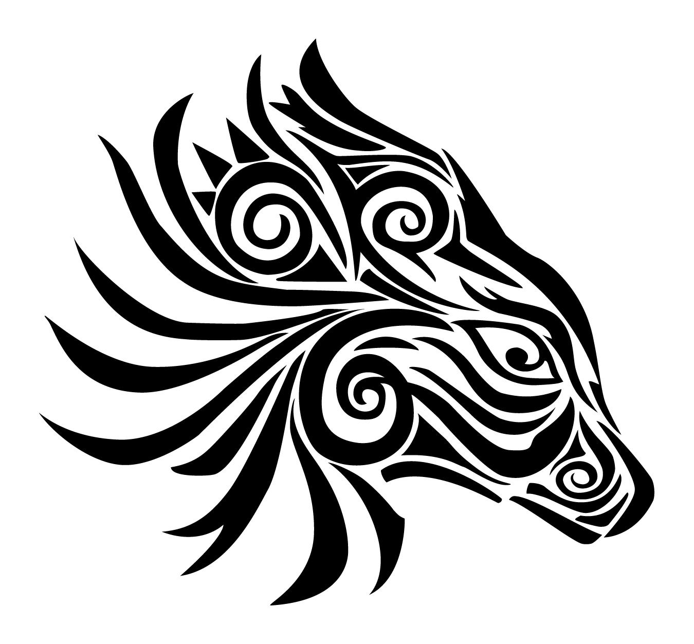 Tribal Animal by pixelworlds on DeviantArt